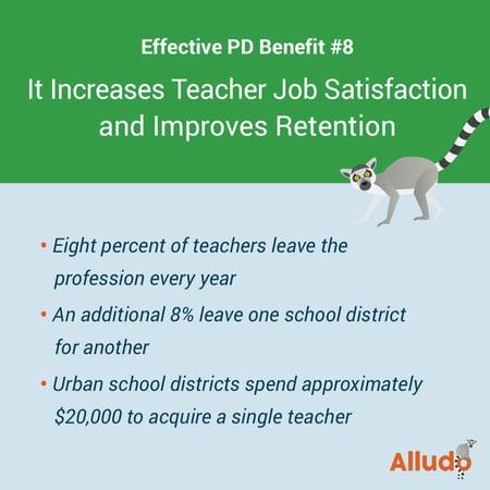 Improves Teacher Retention